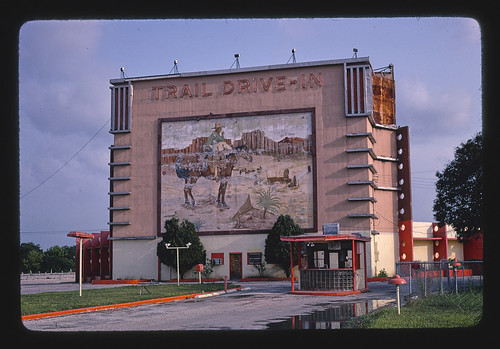 Roadside America -- Trail Drive-in Theater, San Antonio, Texas | by The Library of Congress