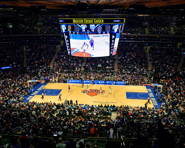 Estadio Madison Square Garden donde ver la NBA en Nueva York