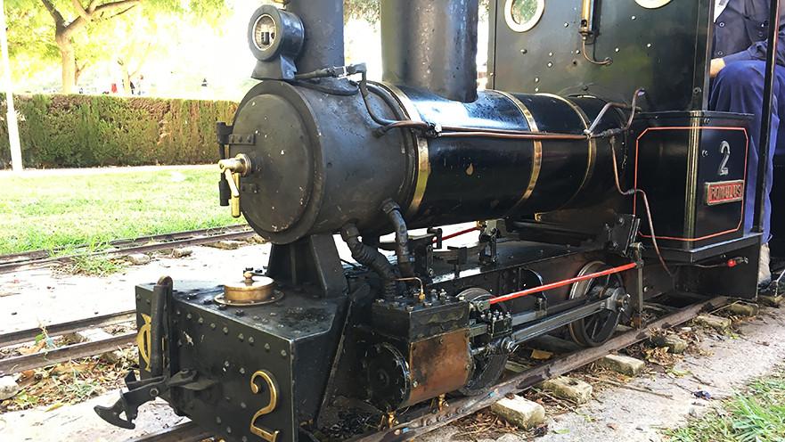 tren locomotora vapor Burjassot La Granja