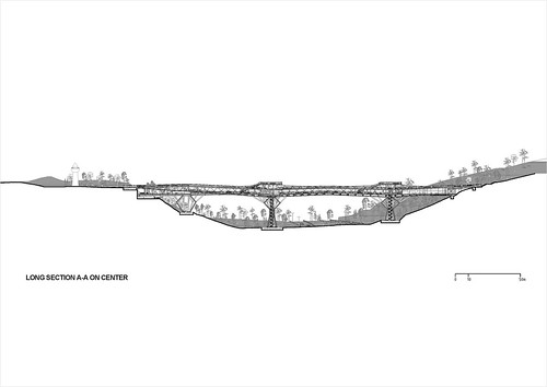 Diba Tensile Architecture - Tabiat Pedestrian Bridge - Drawings 07 | by 準建築人手札網站 Forgemind ArchiMedia