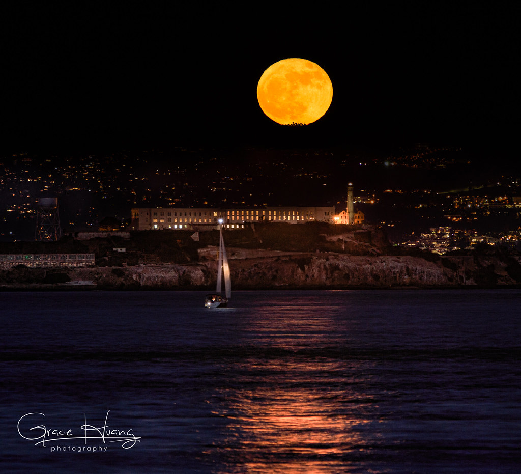 Mooning Over New Missoni: Full Moon Over Alcatraz. This Is Shot On A