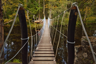 Bridge / Suspension footbridge | by L.Lahtinen (nature photography)