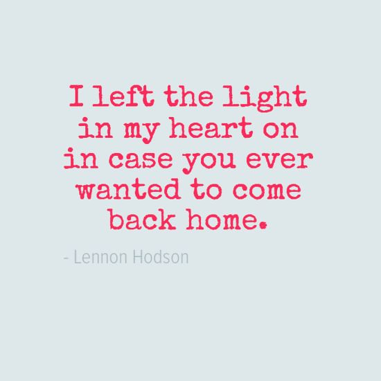 Sad Love Quotes I Left The Light In My Heart On In Case Flickr