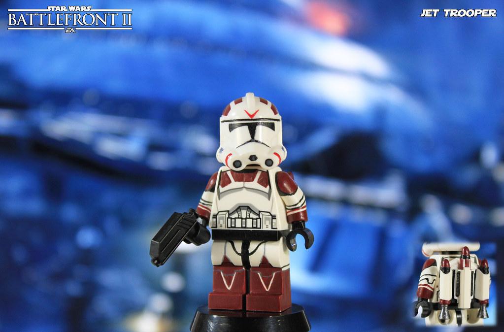 Custom LEGO Star Wars Battlefront II: Clone Jet Trooper | Flickr