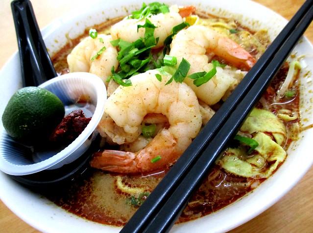 Jia Jia Lok Kuching laksa, special