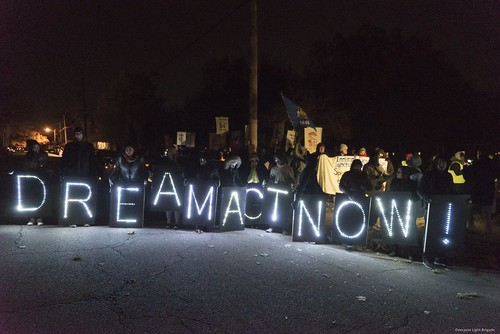 Students Gather at Park Near Paul Ryan's Home | by Overpass Light Brigade