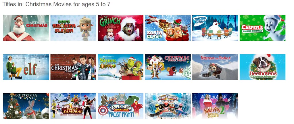 Netflix Christmas movies for kids