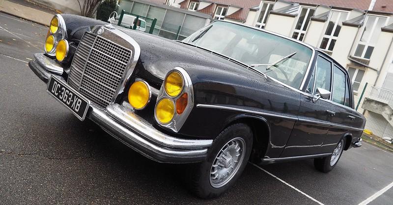 Mercedes 280 SL 1968 - Linas (91) Novembre 2017 38308426166_830727850f_c