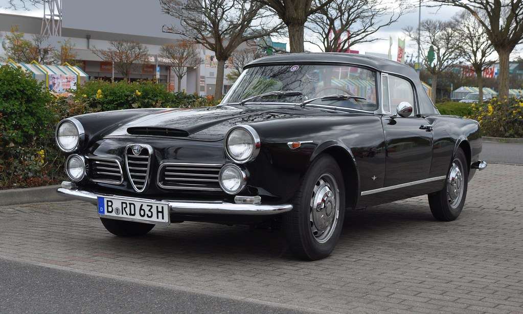 Alfa Romeo 2600 Spider Touring I 1962 Alfa Romeo Club Germ Flickr