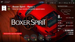 Gran Turismo Sport - GT League - Boxer Spirit