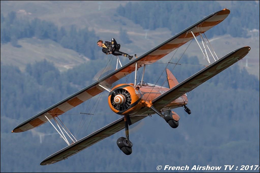 Breitling Wingwalkers , Breitling Sion Air Show 2017 , sion airshow , montagne , Alpes suisse , Canton du Valais , Meeting Aerien 2017