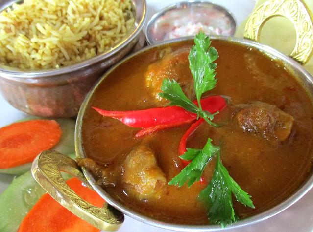 Cafe Ind chicken masala bryani
