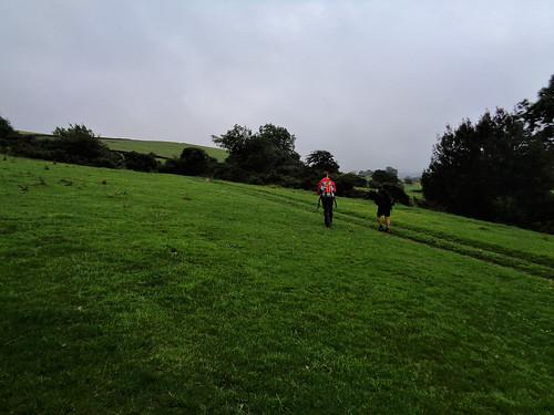 Crossing fields in diminishing daylight