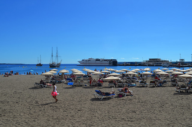 Los Cristianos Nov 2014, the day before it had rained