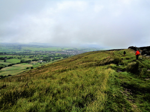 Barnoldswick appears as the clag clears