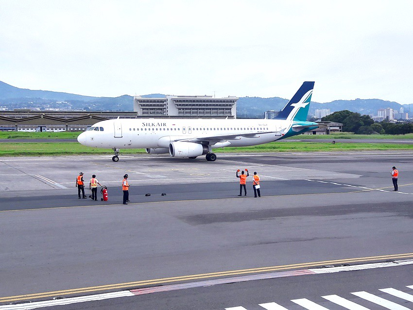 Review of SilkAir flight from Bandung-Java Island to ...