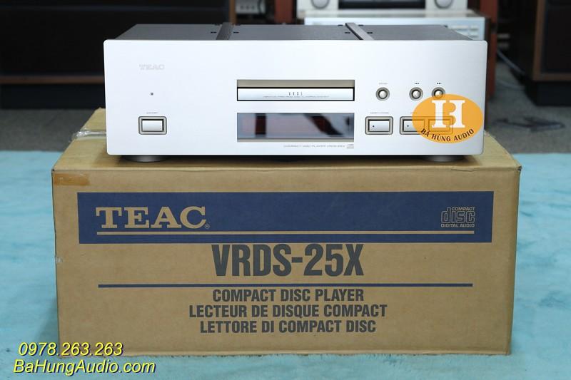 Đầu CD Teac VRDS 25X Fullbox đẹp xuất sắc