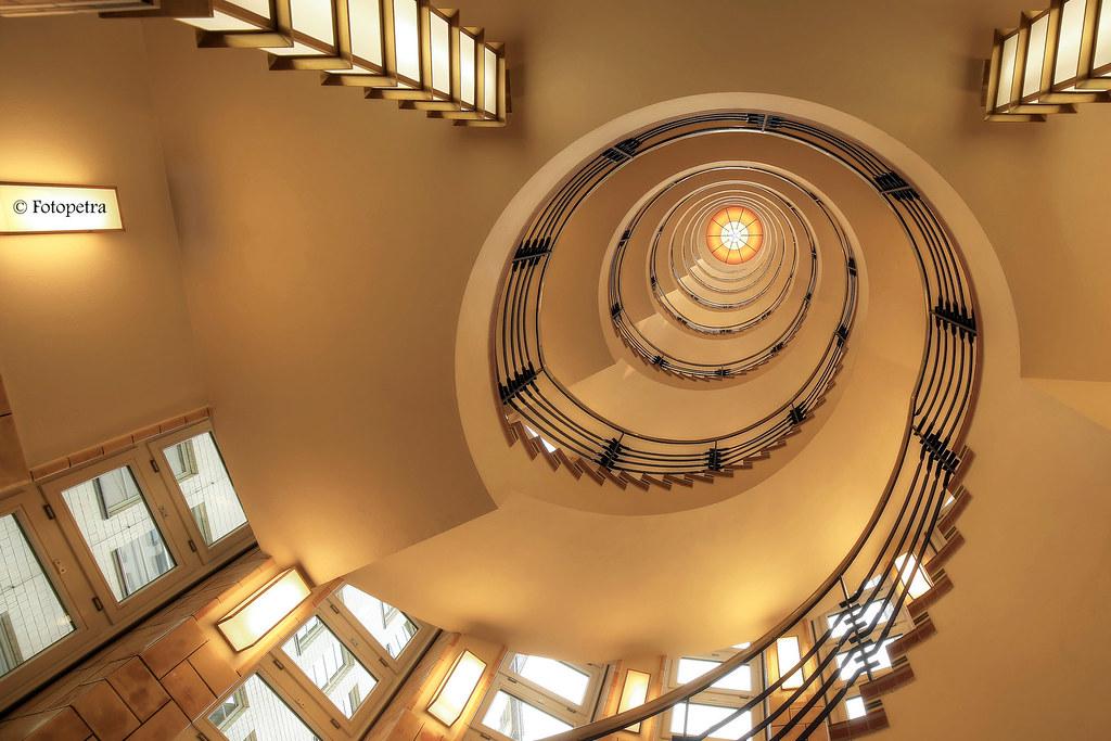 stairs im brahms kontor in hamburg fotopetra flickr. Black Bedroom Furniture Sets. Home Design Ideas