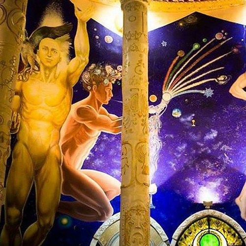 The Demiurgo creating the World in the #TemplesofHumankind | by Damanhur, Federation of Communities