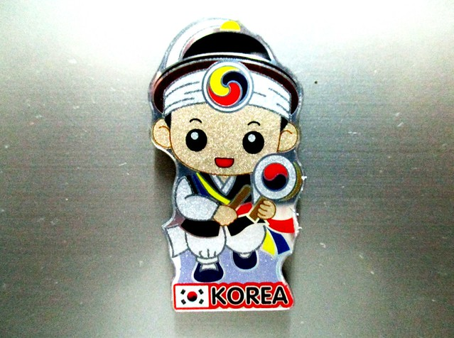 Fridge magnet from Korea