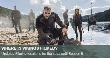 Vikings Filming Locations
