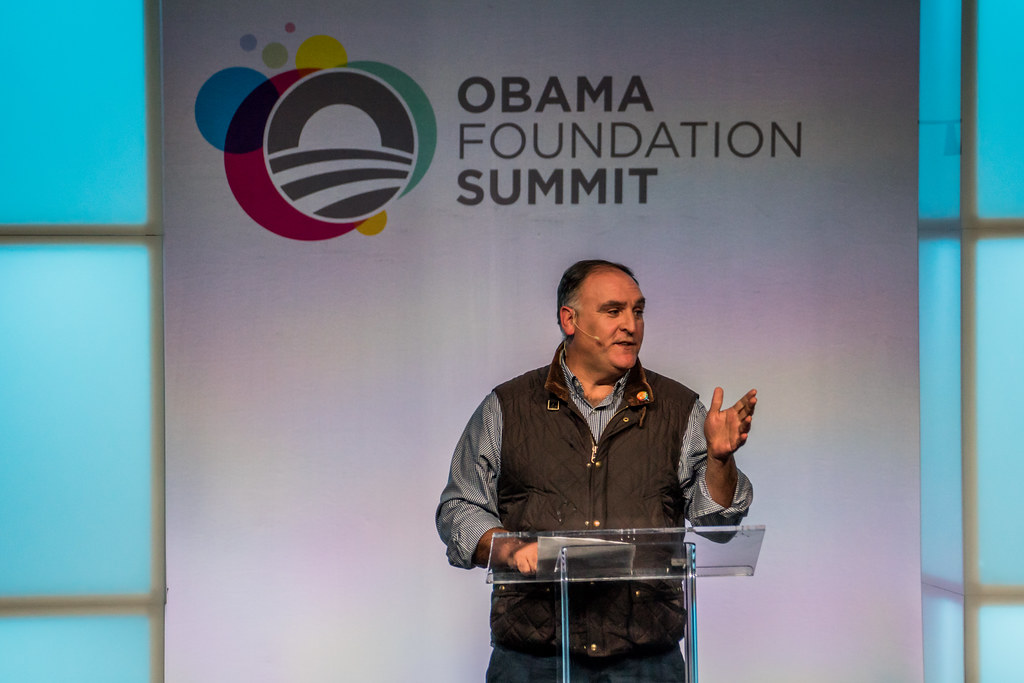 chef jose andres founder of world central kitchen by joshua mellin - World Central Kitchen