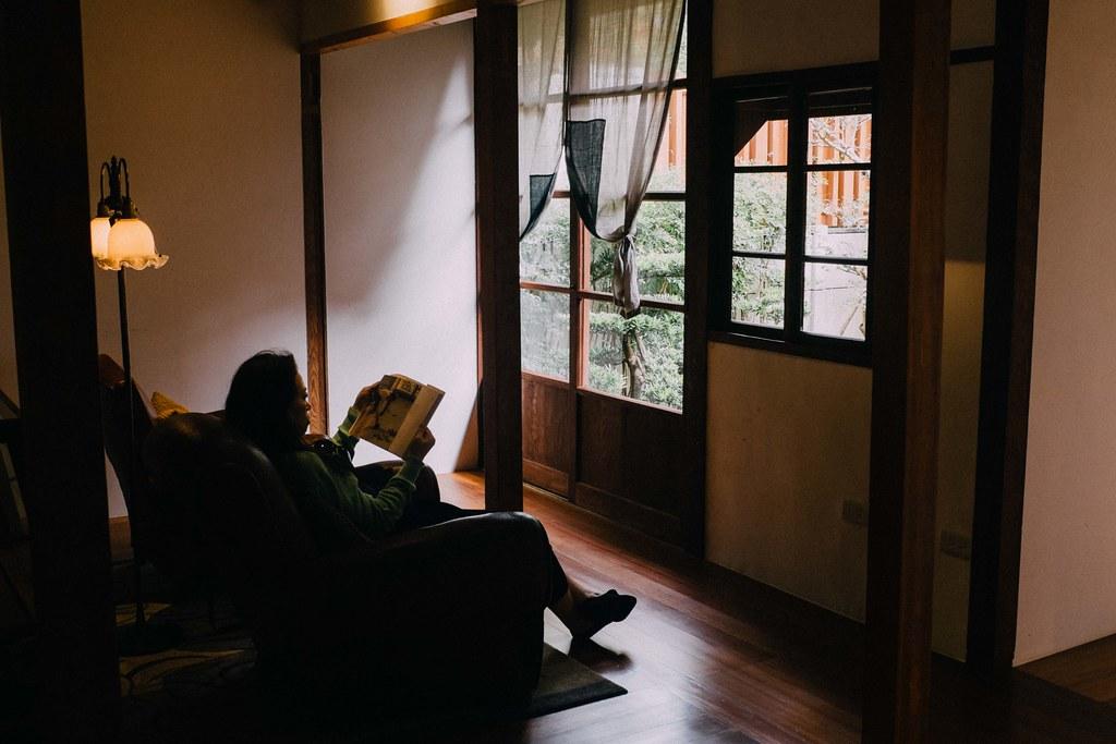 Nada mejor que disfrutar del placer de la lectura en la calma de VVG Chapter