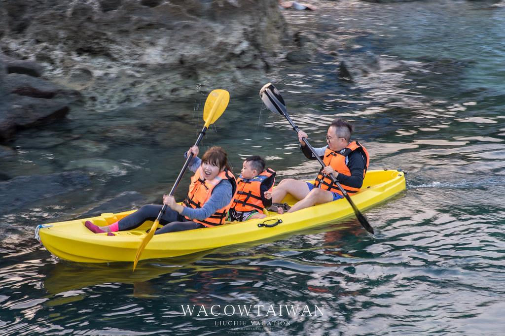 小琉球的獨木舟