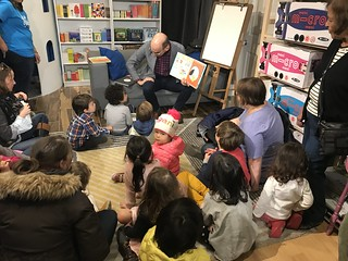 Greg Pizzoli storytime at Tildie's toy box | by pompomflipflop