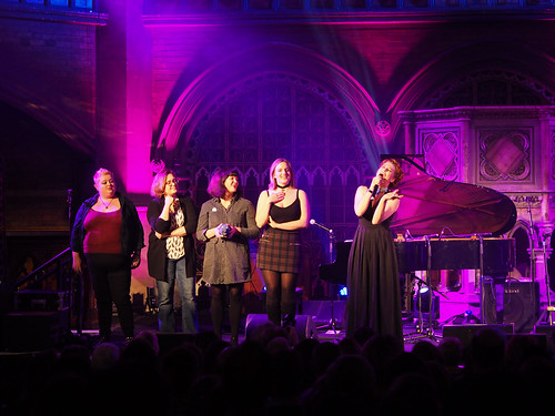 Amanda Palmer & Jherek Bischoff at Union Chapel | by TearSong
