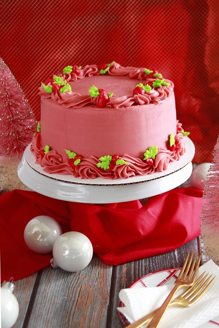 Coal Cranberry Cake