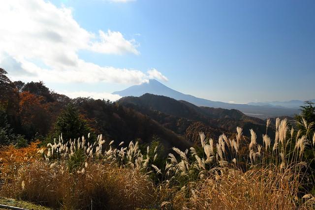 御正体山~石割山 鉄塔からの富士山の展望