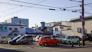 Cars at parking lot in Hakodate, Japan | by phuong.sg@gmail.com