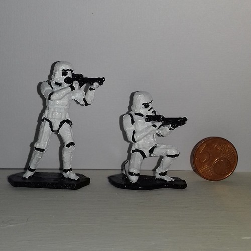 paint 50mm tin stormtrooper...