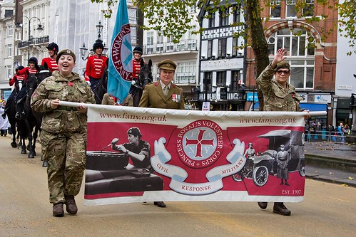 First Aid Nursing Yeomanry (FANY), Lord Mayor's Show, London, 11 Nov 2017 | by chrisjohnbeckett