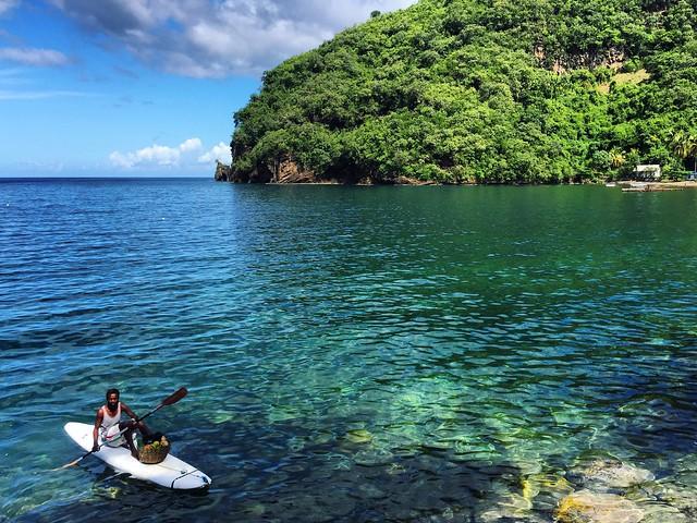 Fotografía tomada en San Vicente y las Granadinas (en busca de los escenarios de Piratas del Caribe)