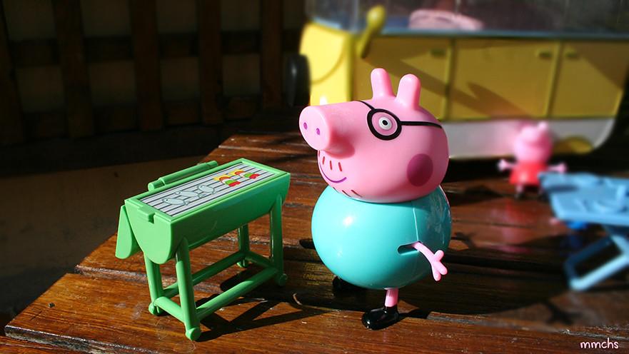 auto caravana Peppa Pig