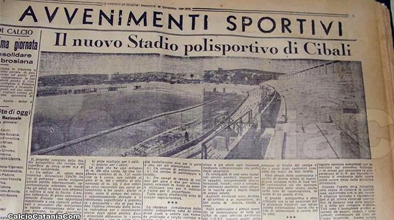 """Un documento preziosissimo: """"Popolo di Sicilia"""" del 28 novembre 1937 (Fonte: Roberto Quartarone, Archivio TCMpM)"""