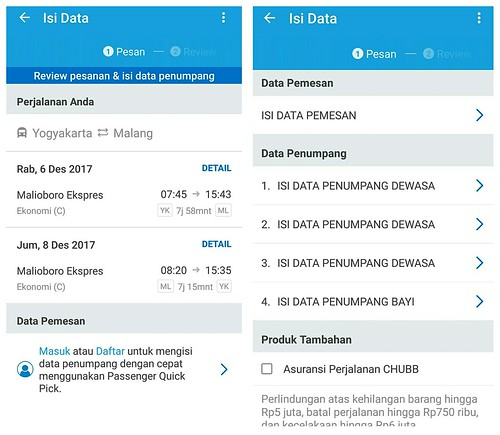 tiket kereta api traveloka | by lajwania