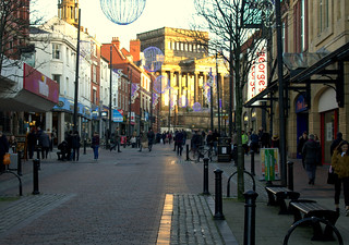 Sunshine down Friargate, Preston | by Tony Worrall
