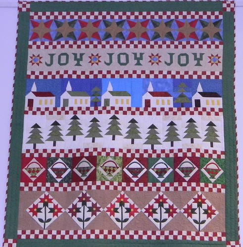 Row by Row Christmas Quilt | by Twin Falls Public Library