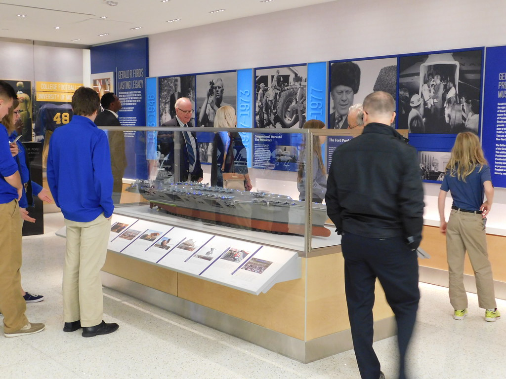 Grand Opening Of The President Gerald R Ford Tribute Room