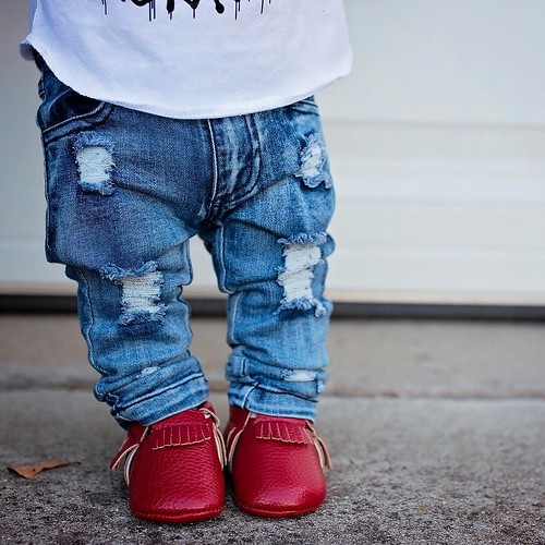 fashionblog Itty bitty baby denim and...