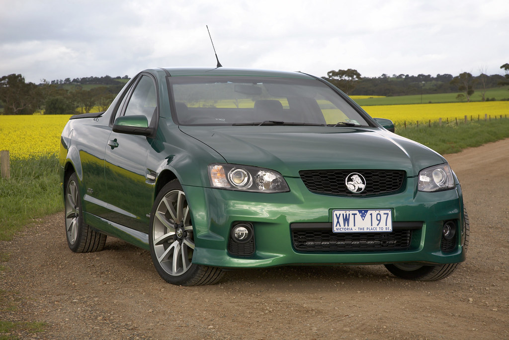 2011 Holden Commodore Ve Series Ii Ssv Ute 2011 Holden Com Flickr
