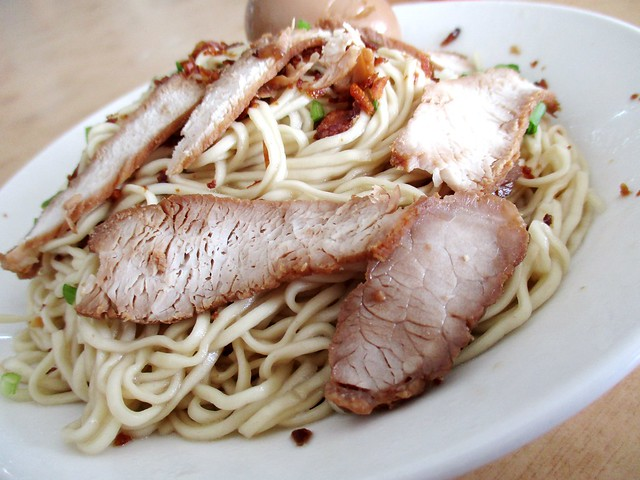 Yong Chuan Fish Noodles kampua with stewed pork