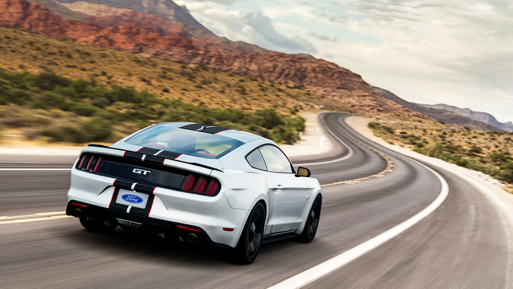 Ford Mustang Gt   By Nbdesignz