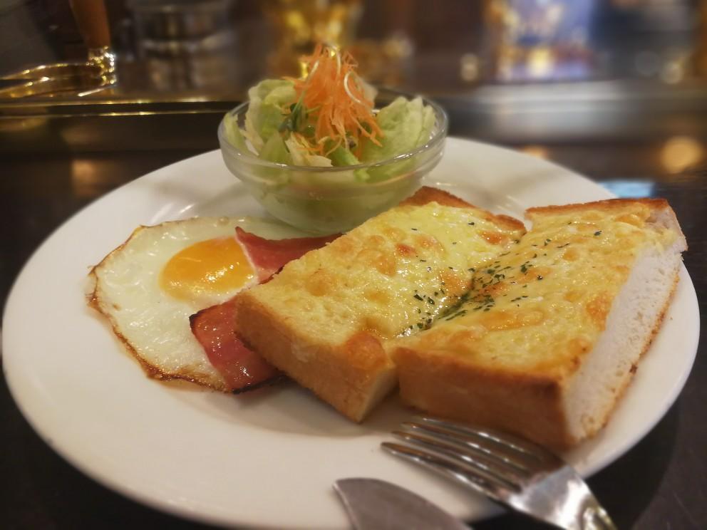 チーズトーストモーニング