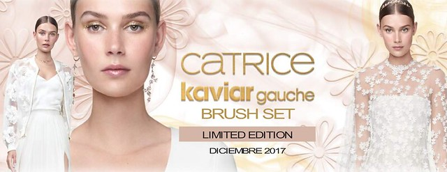 'Brush Set' de Kaviar Gauche y Catrice, visual