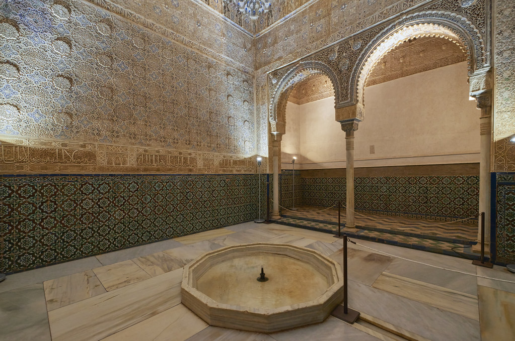 Resultado de imagen de sala de los abencerrajes de la alhambra