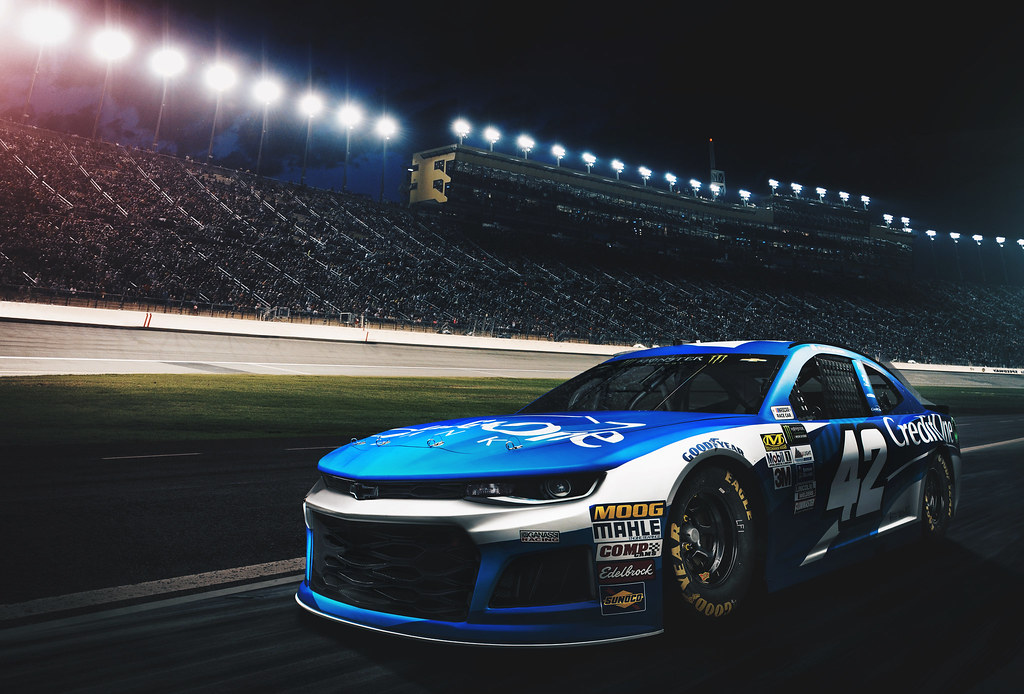 Kyle Larsons 2018 Credit One Chevrolet For Chip Ganassi Racing